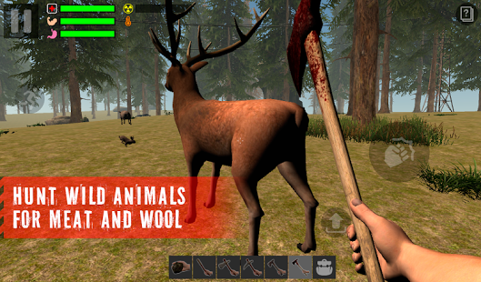 Android The Survivor: Rusty Forest FULL