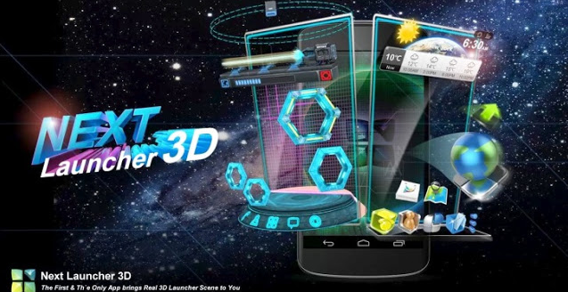 Next Launcher 3D Shell Tam Sürüm