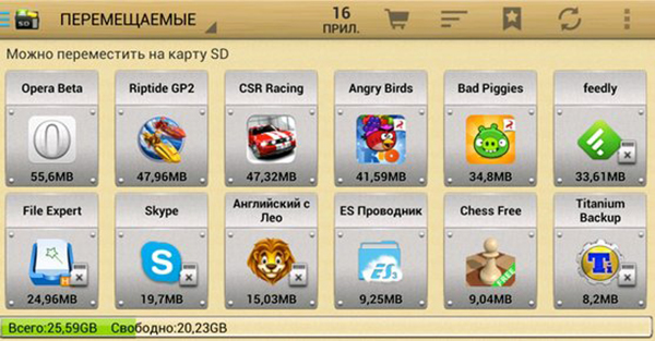 AppMgr Pro III Android APK