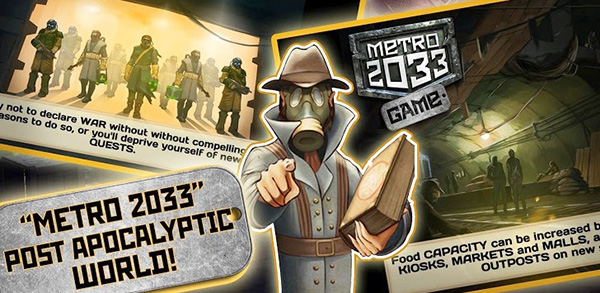 Metro 2033: Wars Android APK
