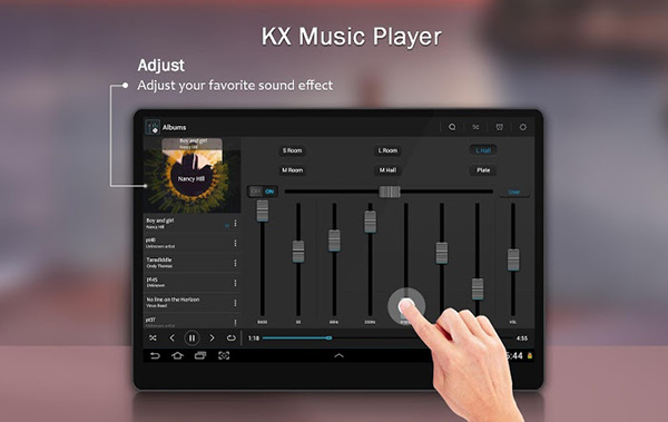 KX Music Player Android APK