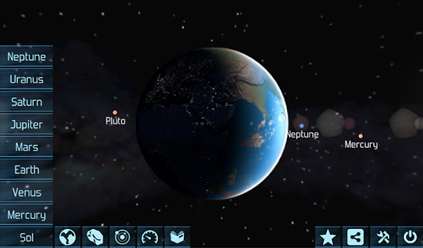 Solar System Explorer HD Android APK