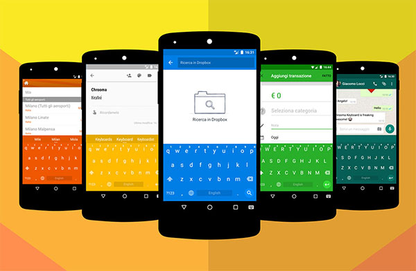 Chrooma Keyboard Android APK